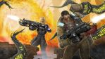 Gears 3...Fighting tentacles by strib