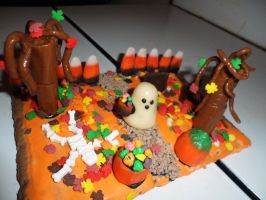 Halloween 2012 Candy House n3 by InkTheEchidna