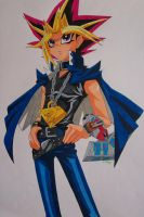 The King Of Games - Yami Yugi by SakakiTheMastermind