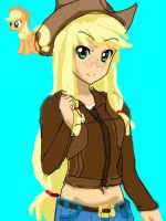 Apple Jack Anime ver. Trial by Sazuko