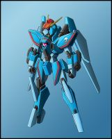 MLP mecha: Rainbow Dash design WIP by zeiram0034