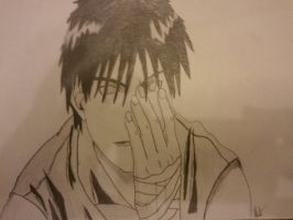 FMA Mustang after he has lost his eye sight by blondypod