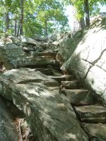 Rock Staircase 3 by BlackWingStock