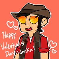 Happy Valentines Wanka by EpicGuac