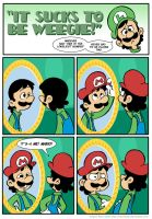 Sucks to be Luigi: The Hat by kevinbolk