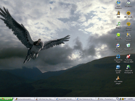 Desktop, 11.13.05 - Hippogriff by FoxApparition