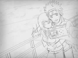 WIP - Naruto and Hinata by HellPurestDevil