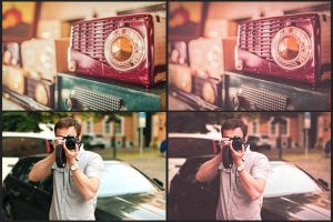 Free Grainy Matte Lightroom Preset by nuugraphics