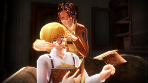 -MMD- SnK_4 ~glasses by Shebra-Evilver
