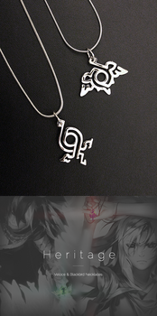 Blackbird and Veloce necklaces by shilin
