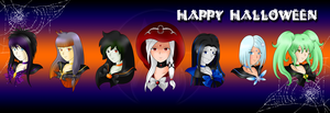 Happy Ghoulloween by sihi-chan