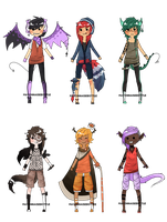 Collab Adoptables - iEatMudkipz - CLOSED by MayonnaiseBottle