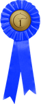 Ribbon: 1st Place by sazzy-riza