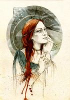Lysa Tully by elia-illustration