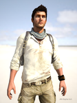 Nathan Drake by JavierMicheal