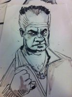 Paulie Walnuts Sketch by j0epep