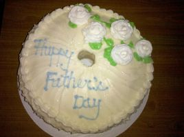 Father's Day Vanilla Butter Pound Cake by missblissbakery