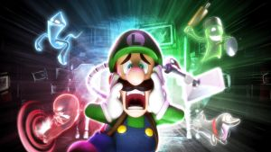 Luigi's Mansion 2 Wallpaper by Casval-Lem-Daikun