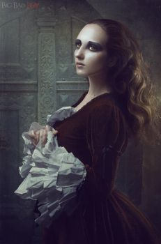 Gothic Portraits: Divine by BigBad-Red