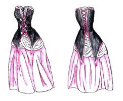 My Prom Dress by Seraphin-Pheonix