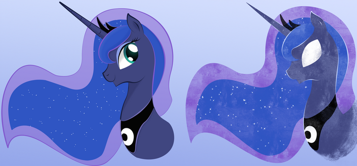 Luna Portrait/Icon Thingy by unknownbronynumber42