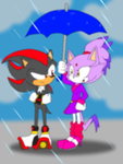 Idiot in the rain by alleycatprincess