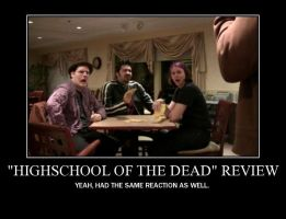 Motivation - Highschool of the Dead Review by Songue