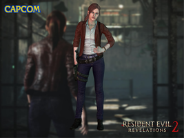 Claire Redfield (default) by Sticklove