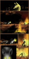 And So the Forest Burned - 2 by PlainYellowFox