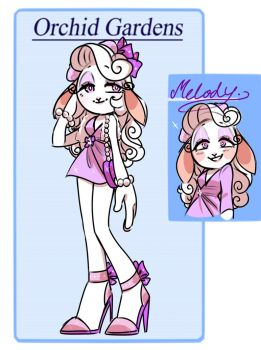 OGC APP: Melody The Sheep by Evarozee