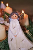 Let my light shine bright at christmastime by ingeline-art