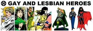 DC Gay and Lesbian Heroes by StevenEly