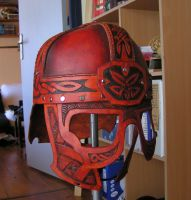 Leather Celtic Helmet by Bear-Crafter