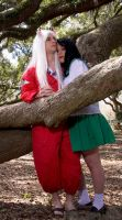 Inuyasha + Kagome by Nightmare-Lust
