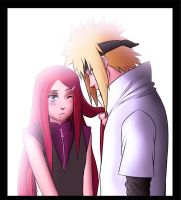 minato and kushina by radouane20