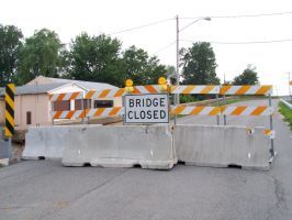 Bridge Closed by drywall420