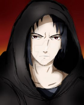Darth Sasuke by heidisartstuff