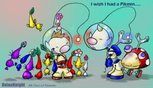 Pikmin toys by OnionKnight