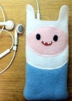 Finn the Human iPhone4/4S Pocket Cozy by IngridEH