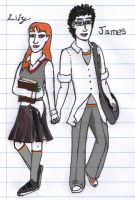Young Love - James and Lily by EmeraldAqua