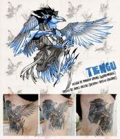 Gasatsu Tengu Tattoo UPDATE by weremagnus