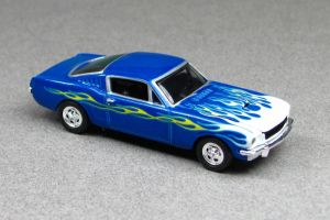 1965 Shelby Mustang GT350 - blue t f cotd - HWC by Deanomite17703cotd