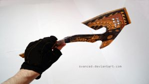 Crossfire BC Axe Royal Dragon Papercraft 2 by svanced