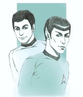 Spock McCoy request by MigraineSky