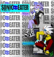 SONIC EATER_Blaze Soul Silver by natsumi-warriors