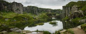 Foggintor Quarry by erynlasgalenphotoart
