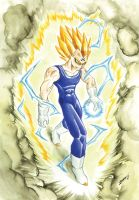 Majin Vegeta by Jorch