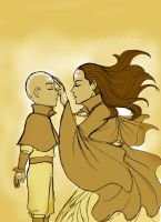 Aang and Yangchen by Amaterasu16