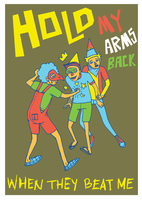 hold my arms back by blackcatdead