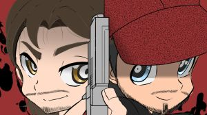 The Walking Dead 2: Luke and Nick Parody by Princess-Riko